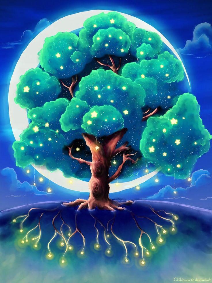 волшебное дерево картинки что, даже