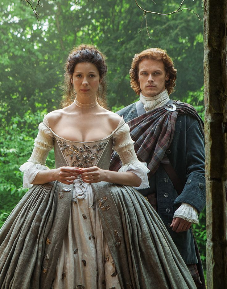 Not exactly the silver screen but Caitriona Balfe and Sam Heughan,  Outlander on Starz are perfect on any screen.2014