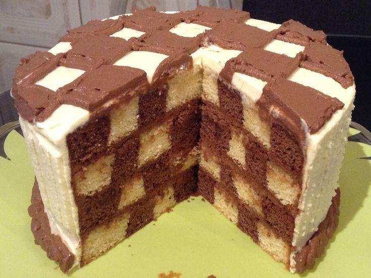 Rețetă de tort Mozaic (tort Șah) - CristineCuisine