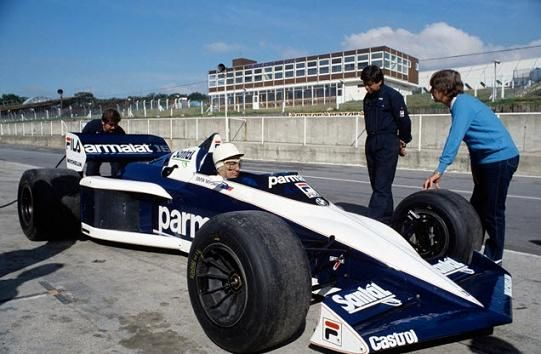 Brabham  BT52B - BMW (Stirling Moss)