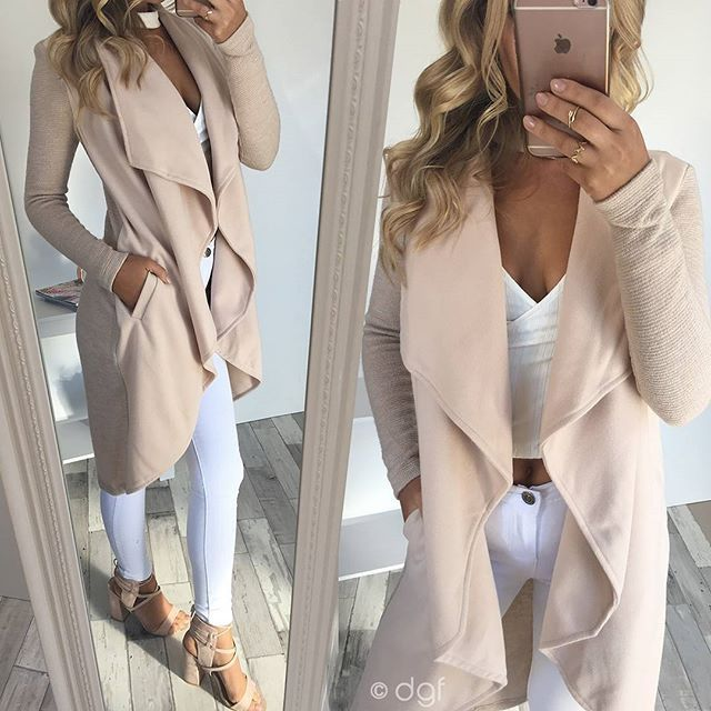 Our best selling 'Smoke Trail Coat - $59.95' has been restocked. Shop online now #dollygirlfashion #ootd