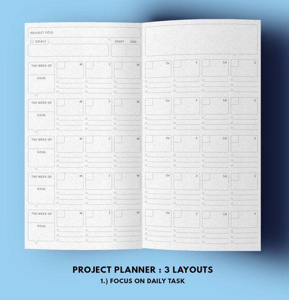 photograph about Midori Insert Printable titled Challenge Planner Midori add Printable, Reason Planner Midori