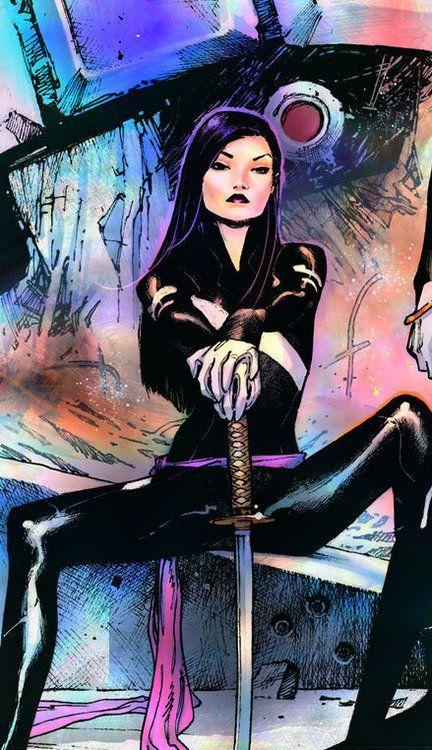 (1) olivier coipel | Tumblr: | Olivier Coipel | Pinterest ... Marvel Now Psylocke