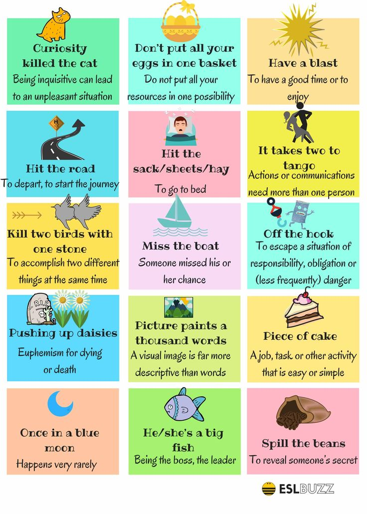 The 30 Most Useful Idioms 2/2