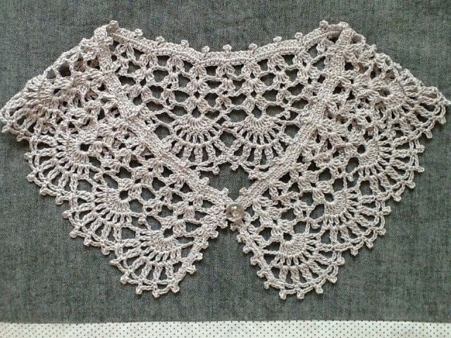 Lace * wearing collar (hemp material) | iichi (Iichi) | sale and purchase of handmade craft handicraft goods