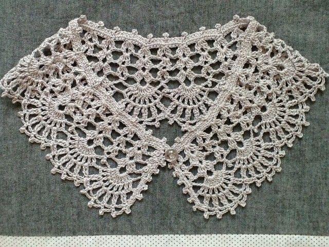 Lace * wearing collar (hemp material) | iichi (Iichi) | sale and purchase of handmade craft handicraft goods