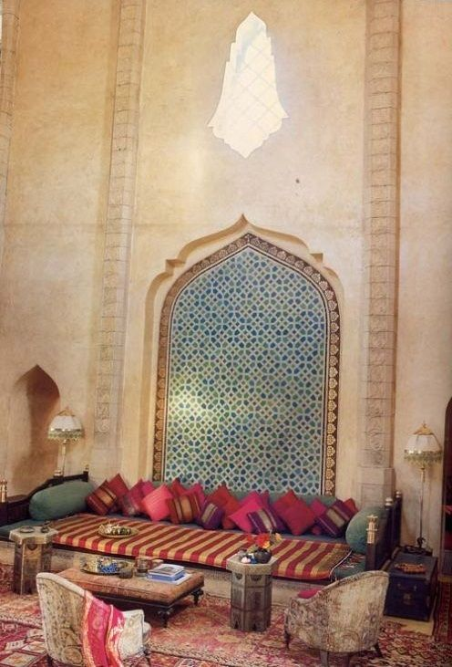 Relaxing Moroccan Living Rooms                              …