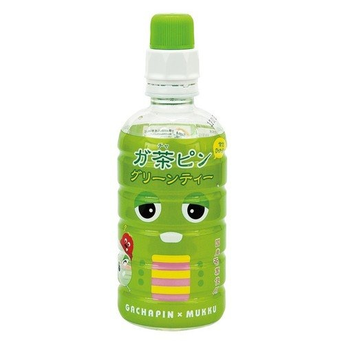 Gachapin Green Tea  「ガ茶ピン グリーンティー」  Those eyes could sell anything PD.
