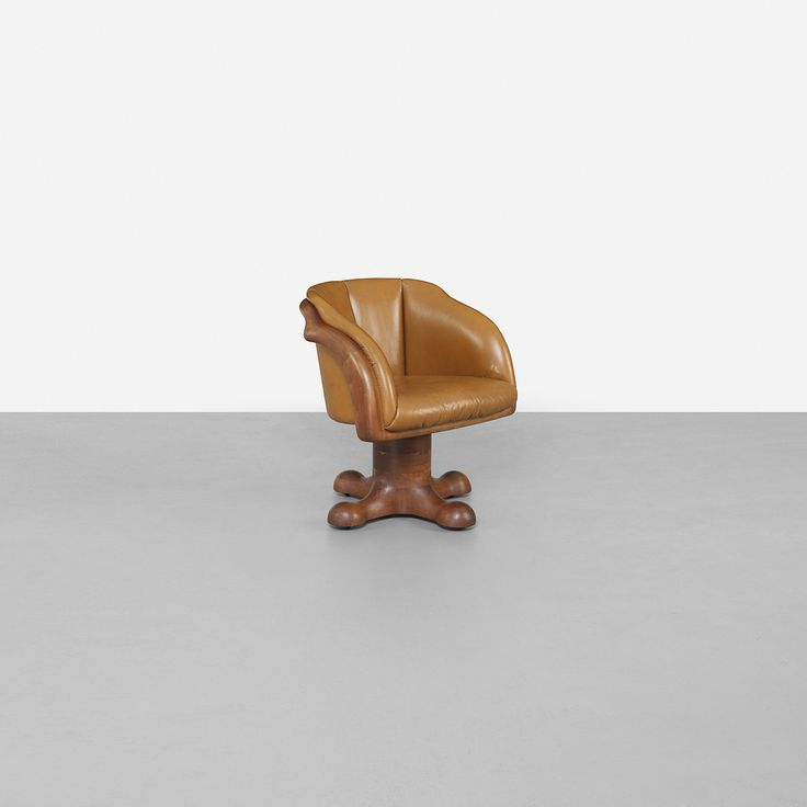 128: Wendell Castle / Swivel arm chair < Important Design, 06 June 2013 < Auctions | Wright