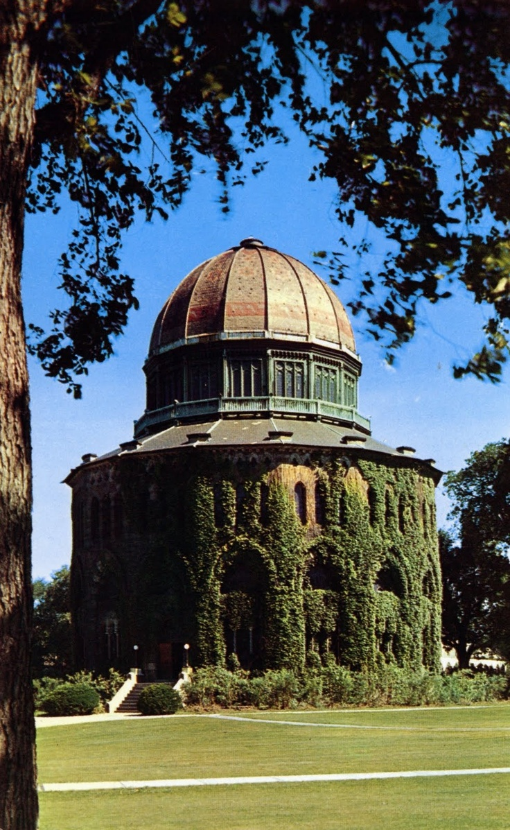 Nott Memorial Library, Union College Campus, Schenectady, New York