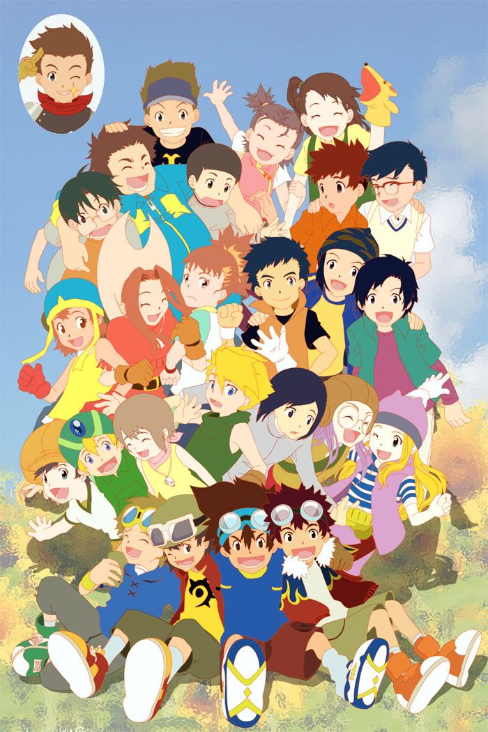 They need to make a Digimon All Stars movie. And I'm not talking about in two episodes of the Xros Wars series!