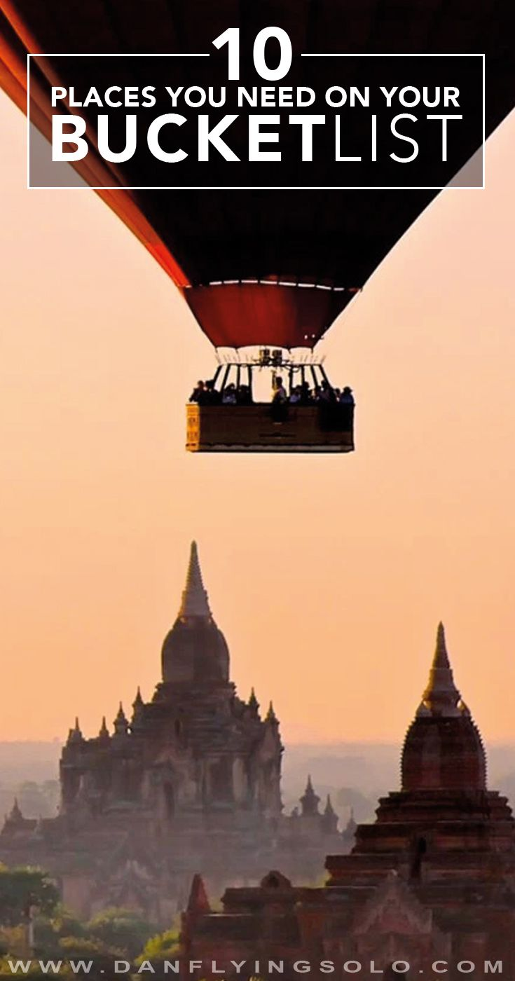Bagan, Raja Ampat, Croatia... 10 places that will steal your heart!