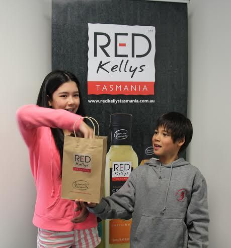 ..And the winner of the Red Kellys Tasmania gift hamper is Cecilia Warrick!