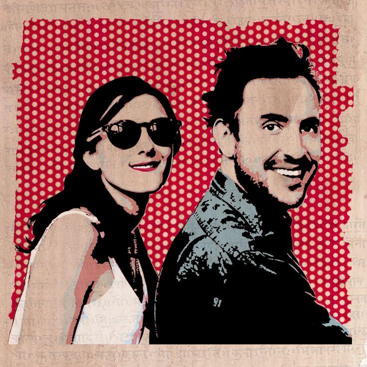 Pop Art portrait by Image Exclusive