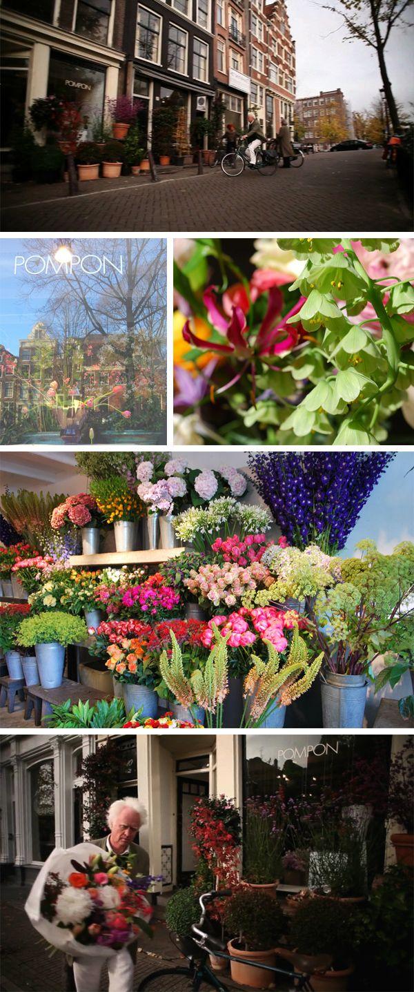 pompon aan de prinsengracht Flower shop, Flowers, Most