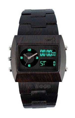 WeWOOD watch - awesome concept! via ampersand design studio