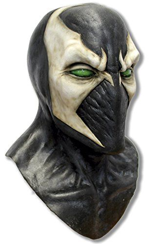 Adult Spawn Latex Superhero Costume Mask @ niftywarehouse.com