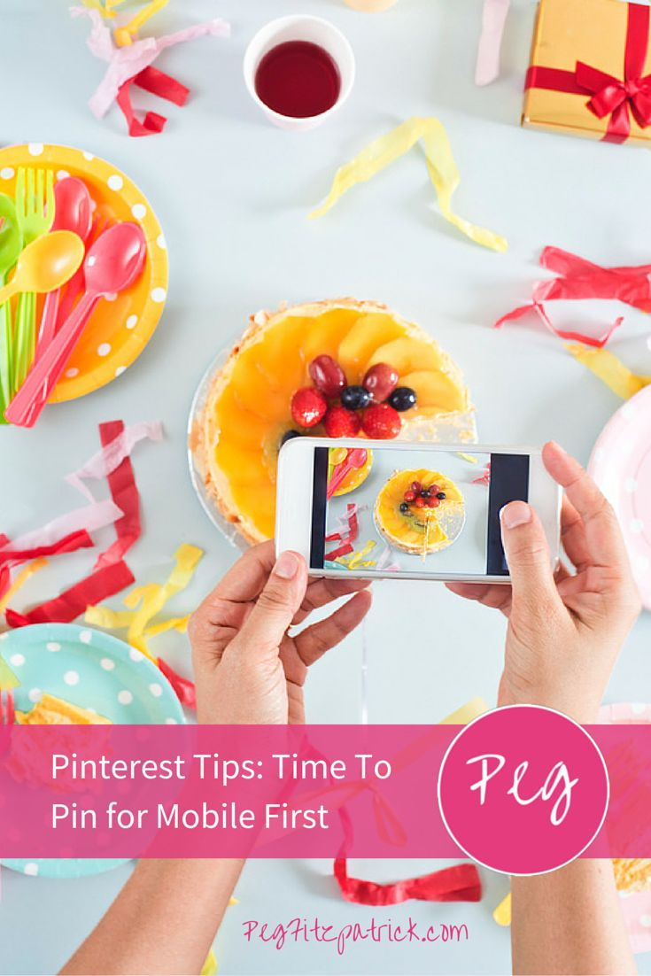 75% of Pinterest's activity is done on mobile devices. Learn Pinterest tips to optimize your pins for mobile viewing from Pinterest expert Jeff Sieh, host of the Manly Pinterest Tips Show.