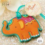 Étiquette à bagage éléphant made in Bollywood ! #inde #mariage #elephant #cadeauxinvites
