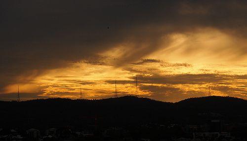 Landscape - Sunset on hill  Tumblr: http://ozpicday.tumblr.com Flickr: https://www.flickr.com/photos/123419261@N02/