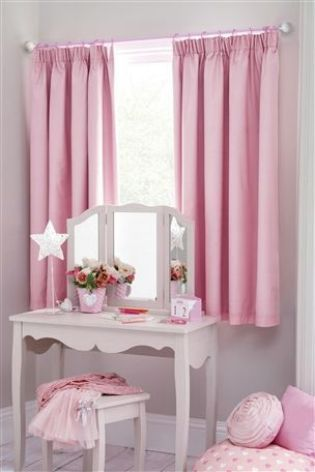 Buy Pink Blackout Lined Pencil Pleat Curtains from the Next UK online shop