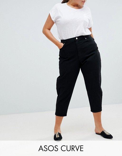 Azul Jeans Marino De Negro Chinos En Design Capri Plus Ajustados Asos rCtshxQd