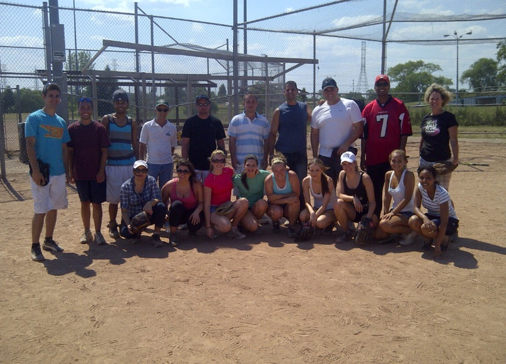 The Putting Edge team had a baseball game on July 11, 2012! Head Office vs. the staff from Vaughan, Richmond Hill and Whitby. The Head Office won big time!