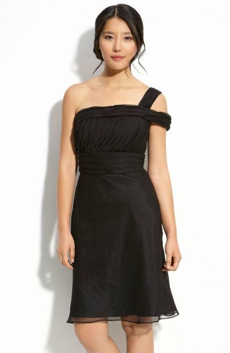 Monique Lhuillier Double Strap Chiffon Dress from Nordstrom, $198