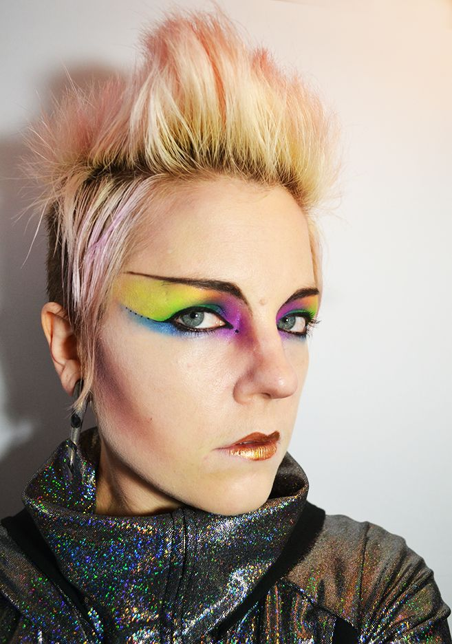 64 Best Images About Punk Makeup On Pinterest | Punk Girls 80s Rock And Spikes