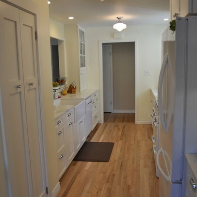 Narrow Kitchen Layout Design Ideas, Pictures, Remodel, and Decor