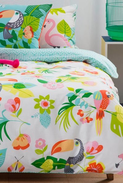 Tropical print and pattern