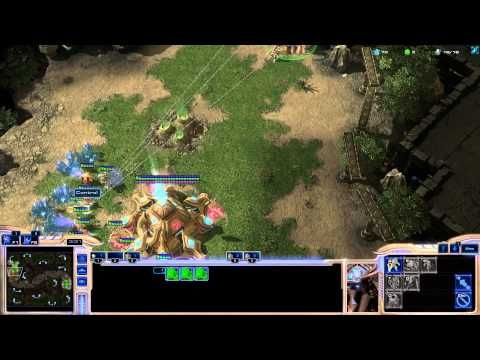 StarCraft 2 Protoss vs Protoss Game Rush