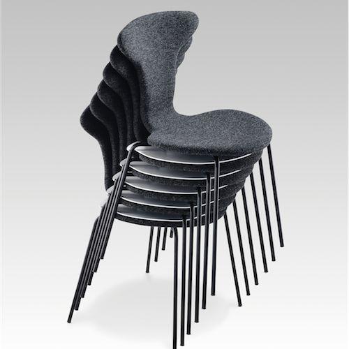 Munkegaard #Mødestol #Kantinestol #Konferencestol #Design