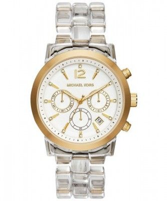 Beautiful Gold Tone Michael Kors Audrina Chrono - A Bargain @ 32% Discount http://bit.ly/1XO92wD