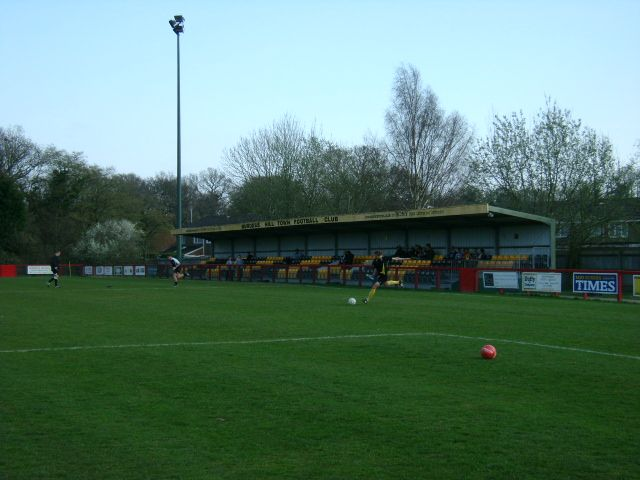 Burgess Hill Town - 05/04/09