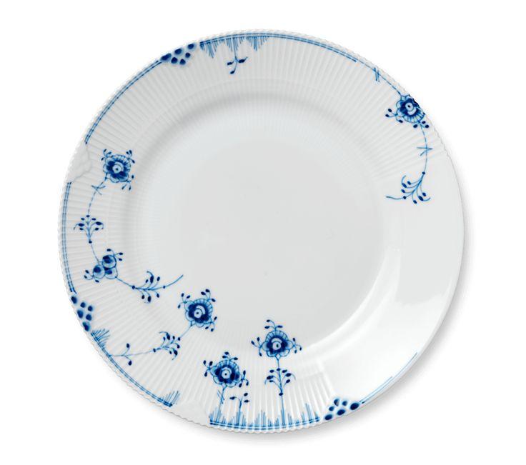 Blå Elements Tallerken 28 cm