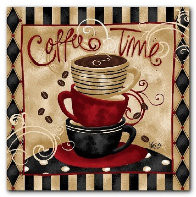 Coffee Time Double Light Switch Plate Cover Room Decor