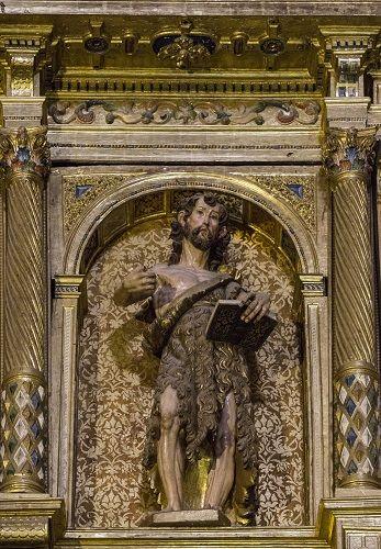Juhannus. Tuntematon tekijä, 1400-1500-lukujen vaihde. Salamancan katedraali, Salamanca, Espanja. Valokuva Marco Peretto.