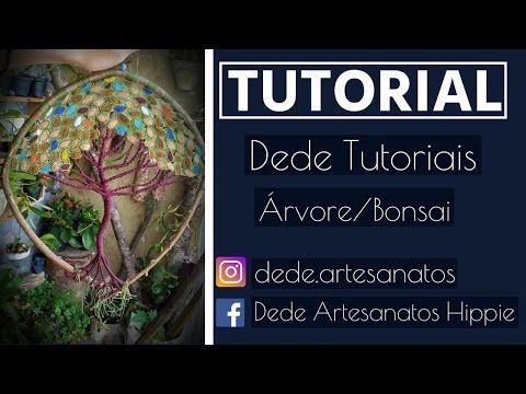 Dede Tutoriais ॐ Como fazer Árvore/Bonsai #4 - YouTube