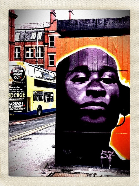 A great big piece of something interesting. Fantastic. Manchester by ftwentytwo, via Flickr