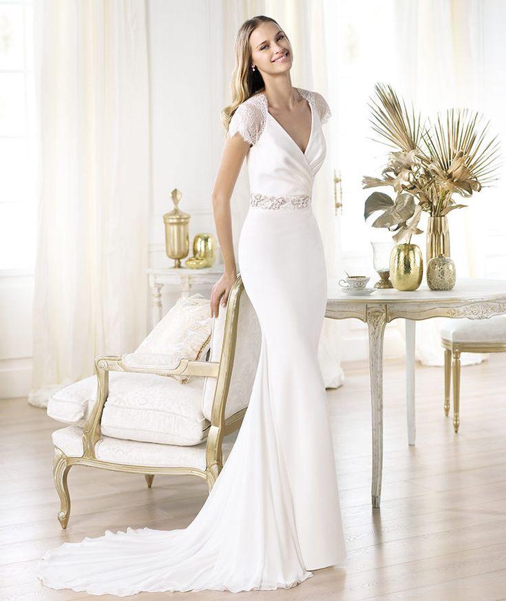 Beautiful  best Pronovias images on Pinterest Marriage Wedding dressses and Pronovias wedding dresses
