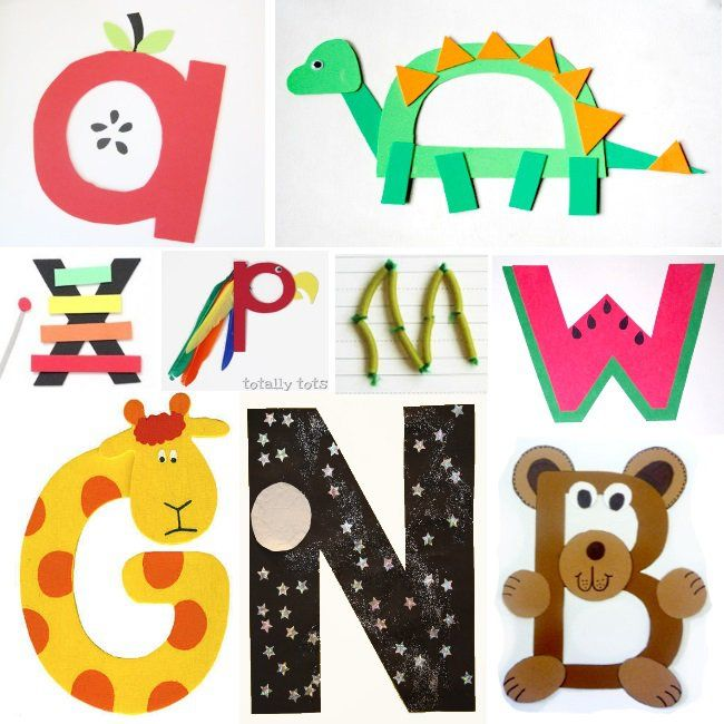 craft ideas for alphabet letters 18 best images about preschool alphabet on 6125