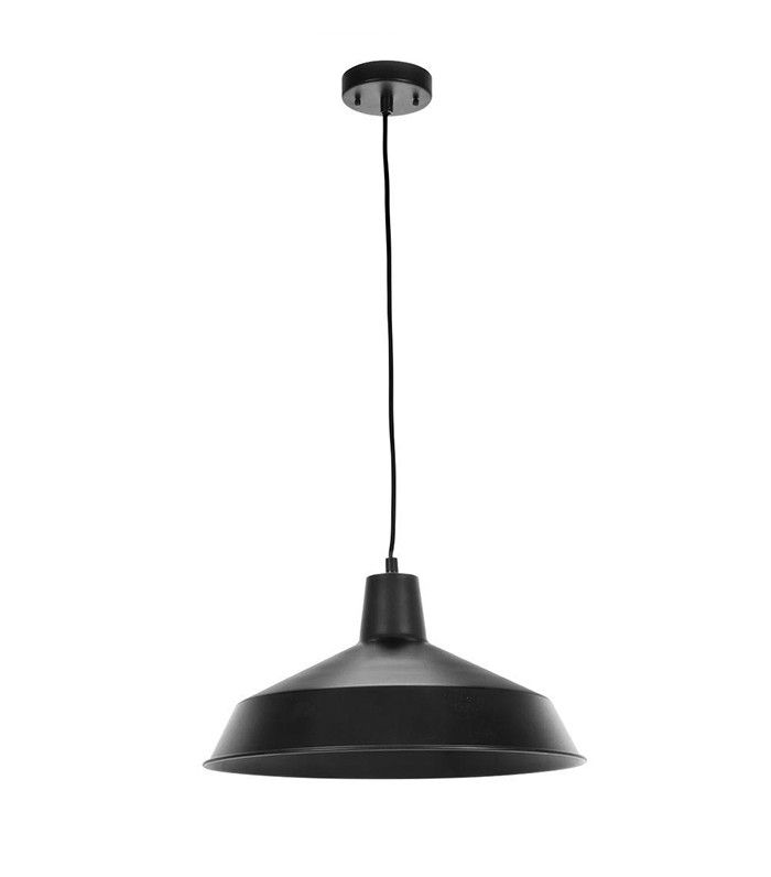 Home Depot 1-Light Matte Black Barn Light Pendant $40.  8 Home Depot Shopping Secrets You're Not Supposed to Know via @MyDomaine