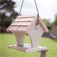 Ivory Hanging Bird Table