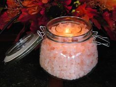 DIY Himalayan Salt Candle Holder Project;Learn how to create your very own DIY Himalayan Salt Candle Holder quickly and easily here...