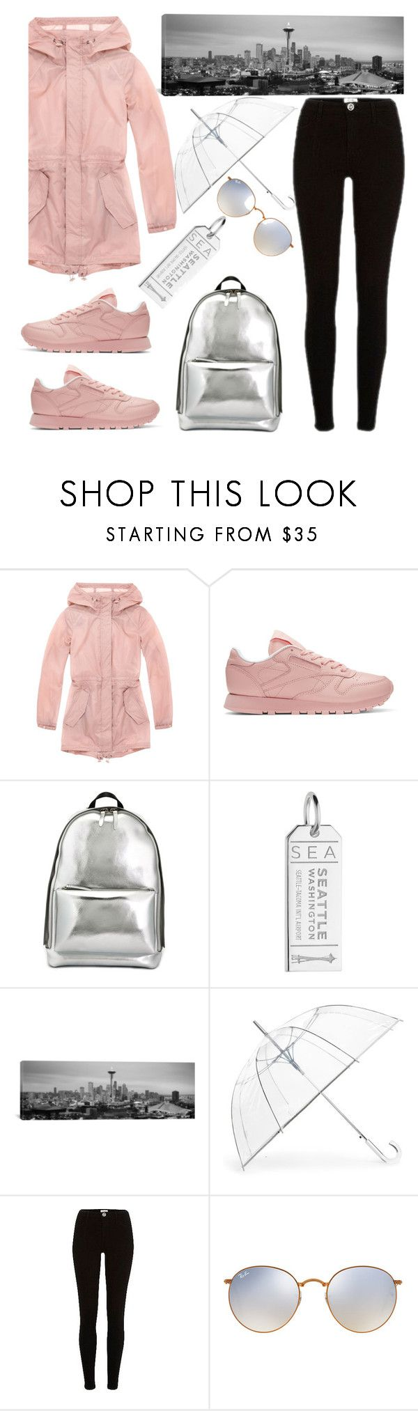 """I see you"" by felicitysparks ❤ liked on Polyvore featuring Marc New York, Reebok, 3.1 Phillip Lim, Jet Set Candy, iCanvas, ShedRain, River Island and Ray-Ban"