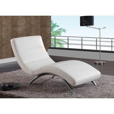 Chaise Lounge Color: White - http://delanico.com/chaise-lounges/chaise-lounge-color-white-655655294/