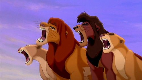 The Lion King 2 - not one of my favorite disney movies but I sometimes like to see how the story goes on.