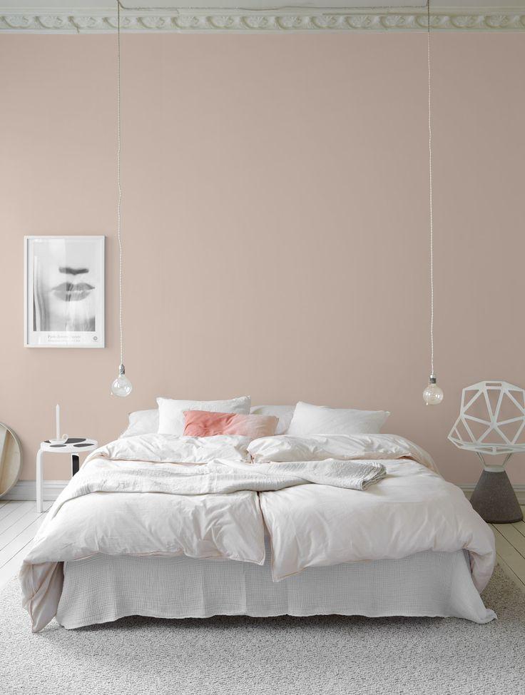Yatak Odalarında Doğal Güzellik Tonları - Boya Fikirleri