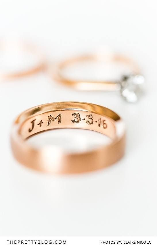 The 25 best Wedding ring engraving ideas on Pinterest Wedding
